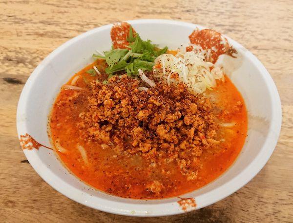 「【木曜限定】担々麺(汁あり) 800円」@麺処 慶の写真