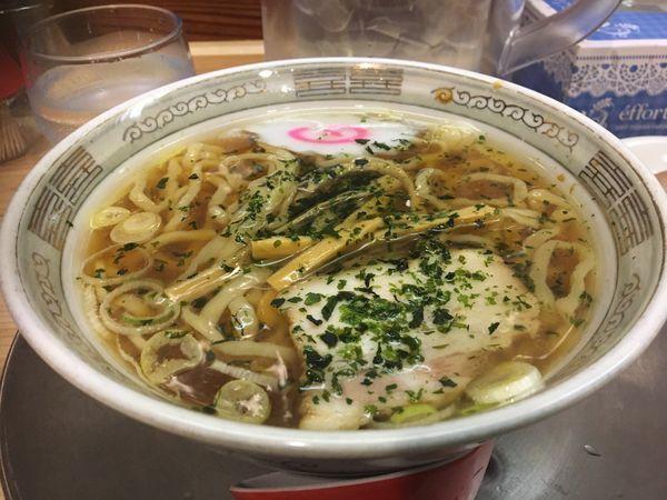 「赤湯しょうゆミニラーメン」@龍上海 新横浜ラーメン博物館店の写真