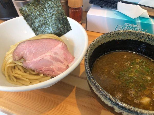 「濃厚つけ麺」@麺処しろの写真
