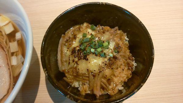 「焼きチーズカレー丼(250円)」@麺屋 一燈の写真