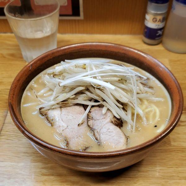 「味噌ラーメン+ネギ」@味噌っ子 ふっくの写真