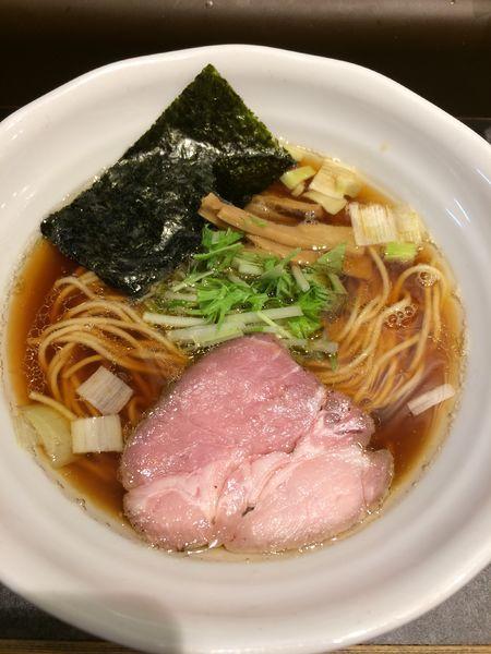 「鶏だし醤油ラーメン780円」@RAMEN 火影 produced by 麺処ほん田の写真