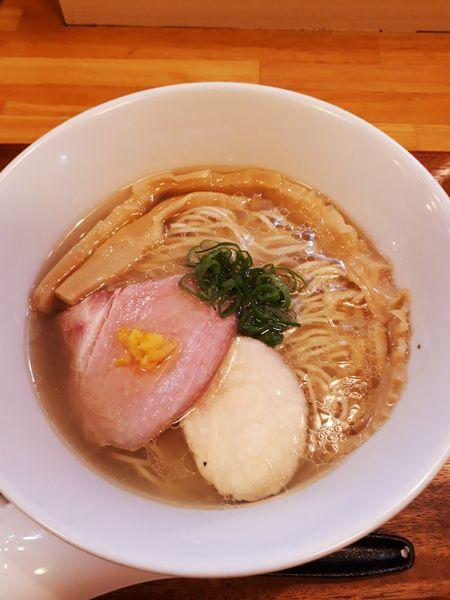 「柚子塩らぁ麺800円」@IRUCA-Tokyo-の写真