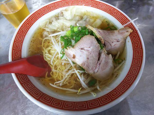 「ワンタン麺 650円」@天一軒の写真