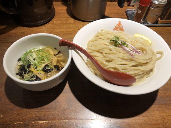 「冷やし鯛出汁塩つけ麺」@つけ麺専門店 三田製麺所 阿倍野店の写真
