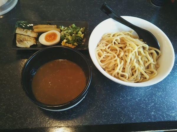 「つけ麺」@つけ麺・らーめん 春樹 東武霞ヶ関店の写真