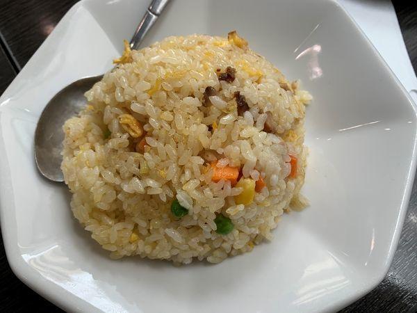 「マーボ―麺+半チャーハン」@中華料理 金龍の写真