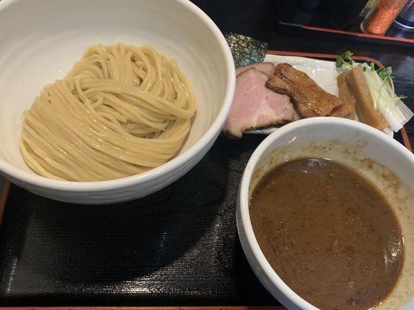 「チャーシューつけ麺」@濃厚宗田つけめん 麺屋縁道の写真