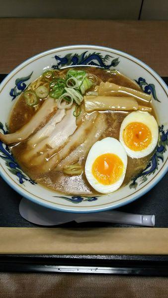 「豚トロチャーシューメン(醤油)」@らーめんや天金 四条店の写真
