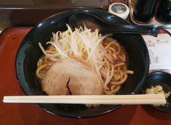 「じろうらーめん(醤油)普通」@らーめん次郎冠者 上阿原店の写真
