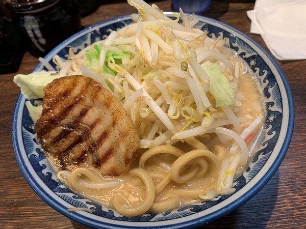 「野菜ラーメン」@麺屋 武士道 船橋店の写真