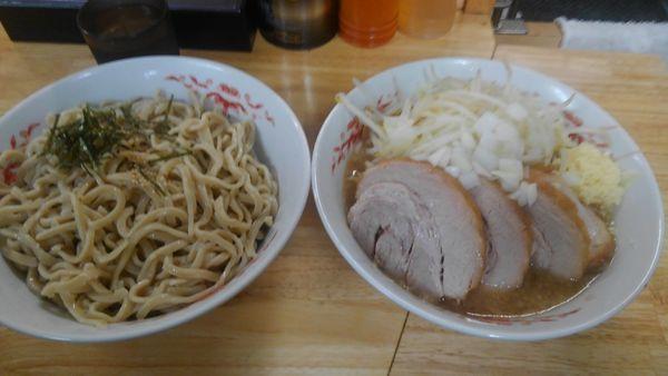 「つけ麺、豚4枚」@ラーメン 登良治郎の写真