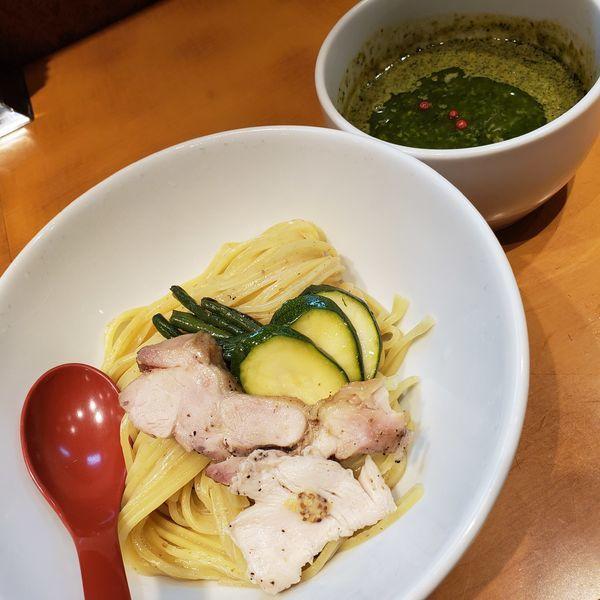 「ジェノベーゼ風つけ麺(¥900)」@麺屋 翔 品川店の写真