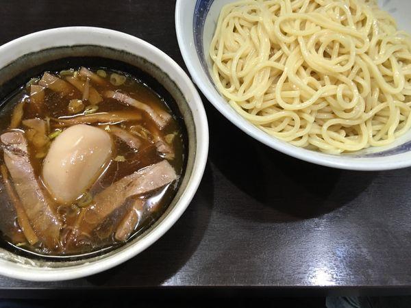 「つけ麺並 味玉」@中華そば べんてんの写真