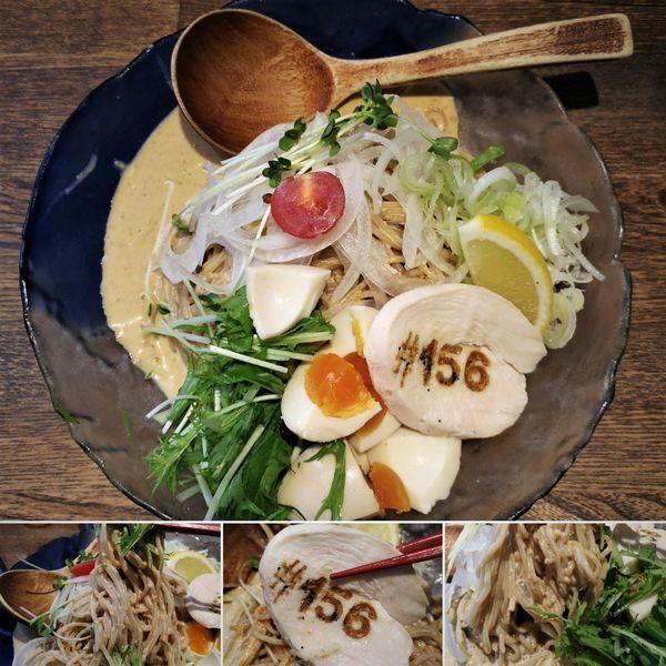 「冷やし中華 980円」@鶏そば十番 156 ICHIKORO 麻布十番店の写真