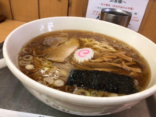 「中華麺 麺カタ」@大宮大勝軒の写真