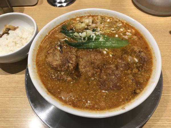 「排骨担々麺」@排骨担々 五ノ井の写真