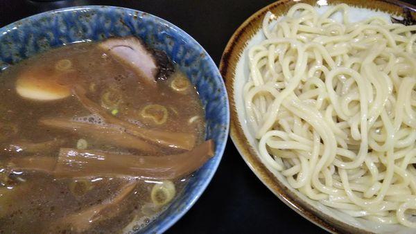 「特製もりそば+メンマ」@麺屋ごとうの写真