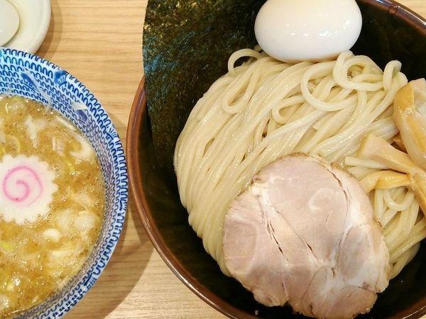 「味玉つけめん(中盛)」@舎鈴 飯田橋駅前店の写真