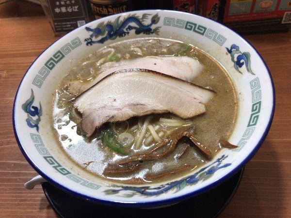 「こく煮干し」@長尾中華そば 東京神田店の写真