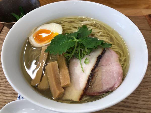 「塩らぁ麺  1000円」@麺匠 独眼流の写真