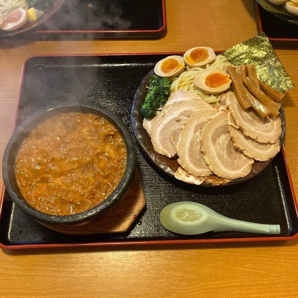 「伊勢海老つけ麺 980円」@真心堂の写真