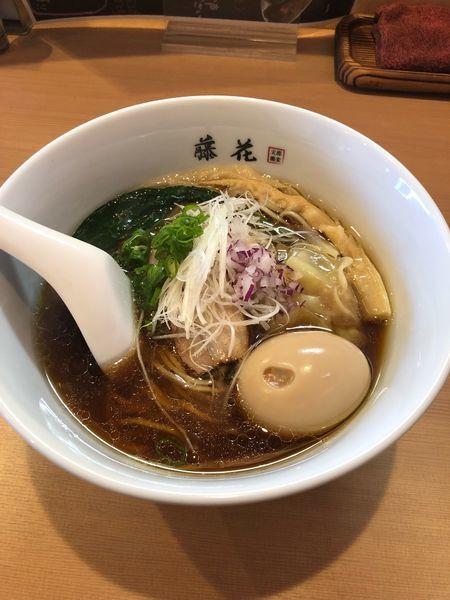「特製らぁめん(醤油)」@支那蕎麦屋 藤花の写真