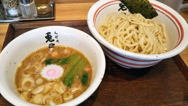「つけ麺」@人形町 兎屋の写真
