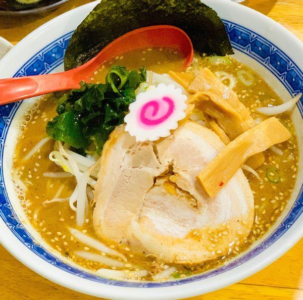 「醤油ラーメン Aセット」@麺屋十王 八幡山店の写真