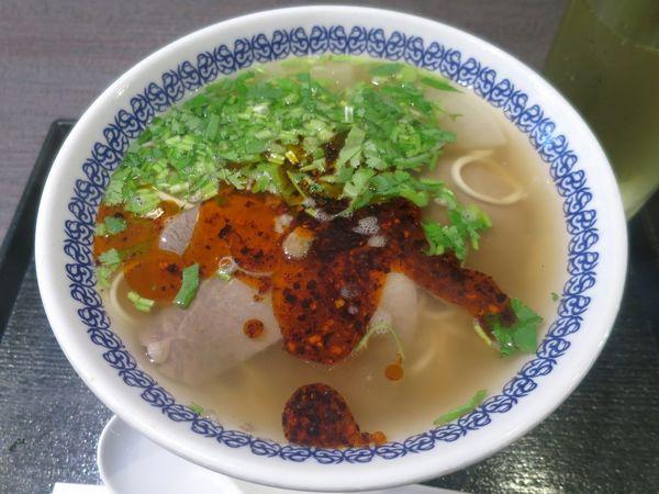 「蘭州牛肉面 880円 ※細麺」@馬子禄 牛肉面の写真