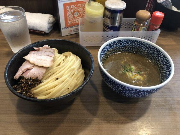 「極濃厚煮干しつけ麺」@煮干しつけ麺 宮元の写真