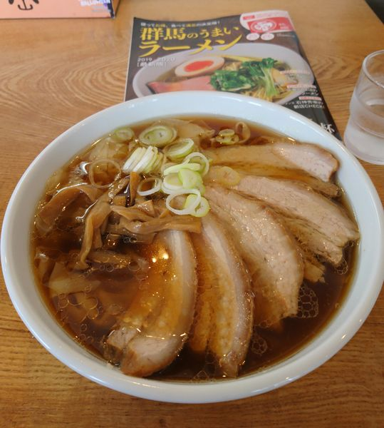 「手打ちチャーシューワンタン麺 しょうゆ」@恵比寿の写真