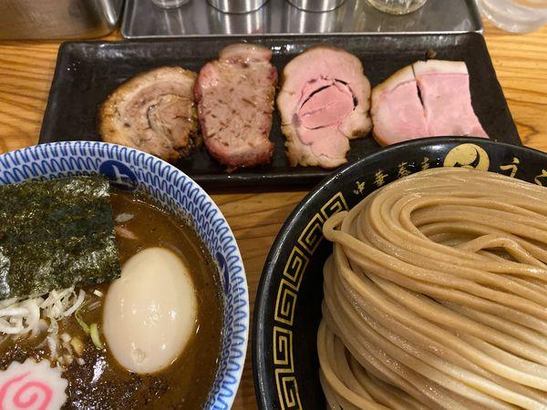 「特製つけ麺(中)」@中華蕎麦うゑずの写真