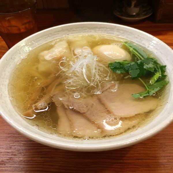 「特製塩らーめん1000円」@純手打ち 麺と未来の写真