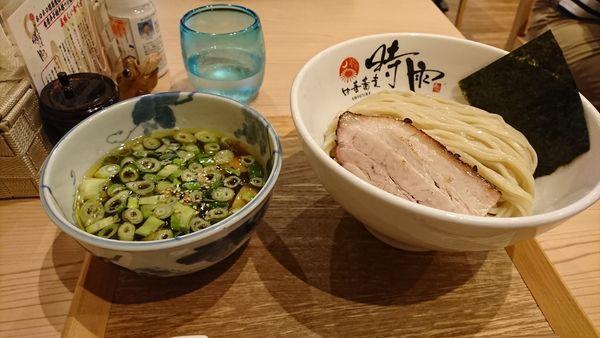 「ホロホロ雉つけ麺」@中華蕎麦 時雨の写真