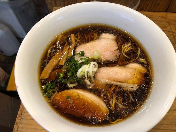 「しもふり中華そば750円」@麺屋KABOちゃんの写真