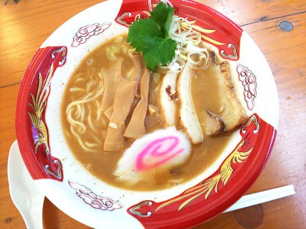 「【睡蓮×NOROMA×新倉】ええとこ鶏魚介豚骨らーめん 870円」@大つけ麺博 美味しいラーメン集まりすぎ祭の写真