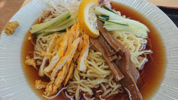 「冷やし中華」@金ちゃん食堂の写真