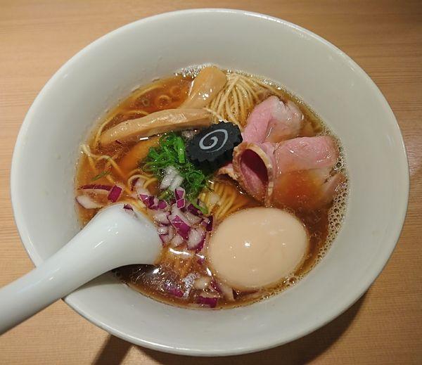 「味玉のどぐろそば(1100円)」@らぁ麺 はやし田 新宿本店の写真
