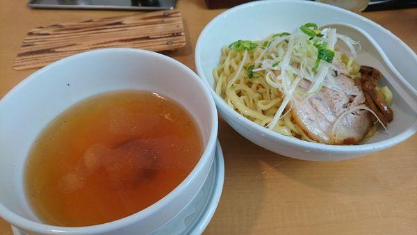 「【昼】鬼塩つけそば」@鬼そば 藤谷の写真