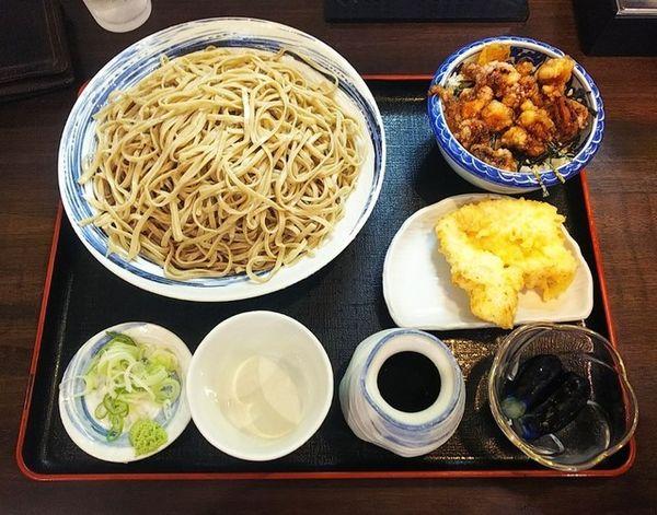 「10食限定二八もりそば500円」@麺道 自然やの写真