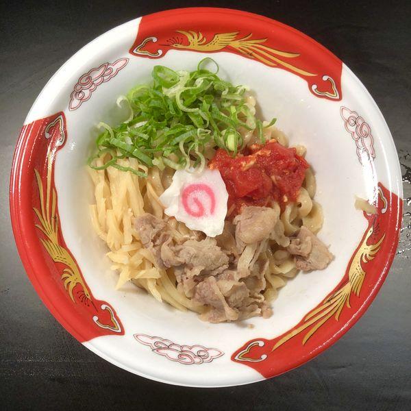 「【まぜそば専門 闘牛脂】旨塩まぜそば」@大つけ麺博 美味しいラーメン集まりすぎ祭の写真