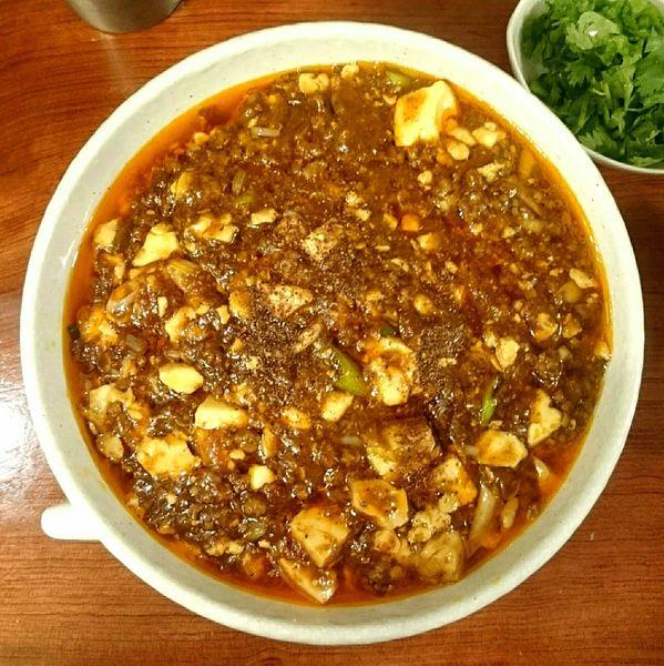 「麻婆麺(普辛) パクチー」@SHIBIRE NOODLES 蝋燭屋の写真