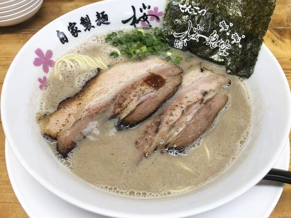 「豚骨ラーメン」@麺屋 桜息吹の写真