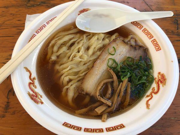 「醤油ラーメン」@麺や 七彩 八丁堀店の写真