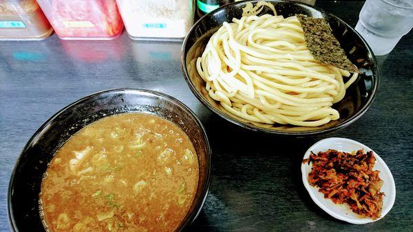 「濃厚豚骨つけ麺(中盛)」@無鉄砲 つけ麺 無極の写真
