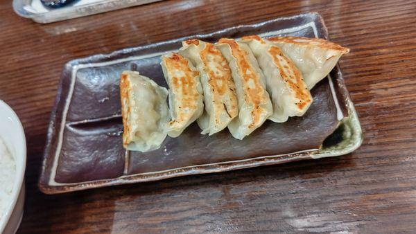 「お得なランチセットの餃子」@らーめん駿 ららん藤岡店の写真