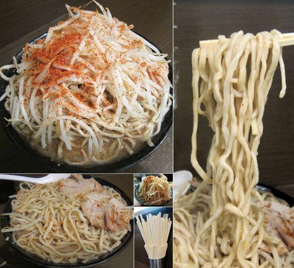「麺マシ 大 830円(蒜・トウガラシ)」@ラーメン二郎 JR西口蒲田店の写真