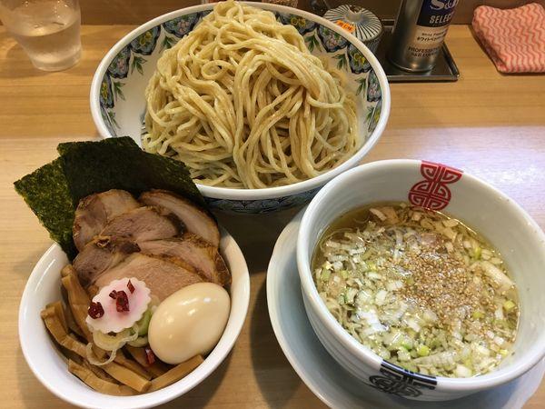 「特製粟国の塩つけそば(麺大盛り)」@多賀野の写真