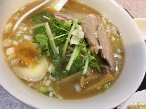 「味噌叉焼麺」@中華料理 東園の写真